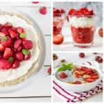 Ciasta z truskawkami, tarta z truskawkami i inne pyszności