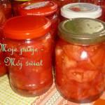 Przetwory 2017: Pomidory w solance