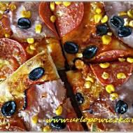 Idealna pizza na cienkim cieście :)