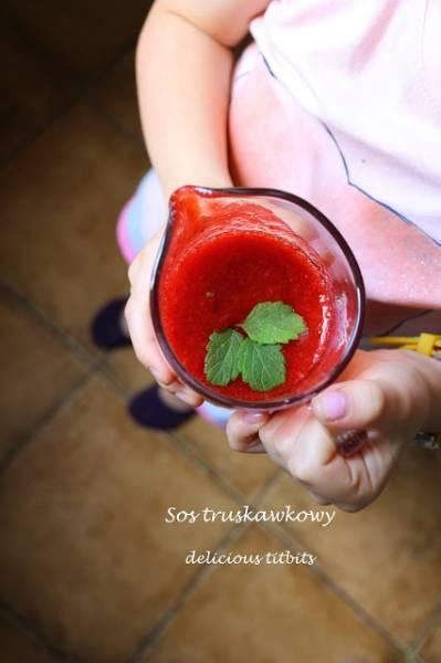 Sos truskawkowy do słoika
