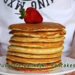 Puszyste pankejki. Pancakes.