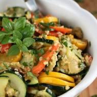 Kasza kuskus z warzywami (danie jednogarnkowe)
