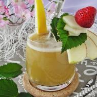 Sok świeżo wyciskany melon jabłko gruszka