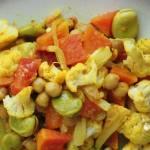 Pomysł na… potrawkę z kalafiora i papai
