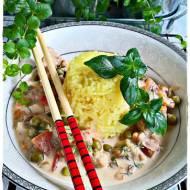 Drobiowa potrawka z ryżem