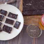 Wegańska czekolada z nasionkami chia