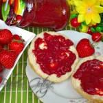 Dżem truskawkowy bez cukru – 100 % naturalny z samych truskawek