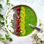 Green smoothie bowl.
