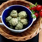 Aromatyczne pulpety w sosie śmietanowo-koperkowym z czubricą zieloną