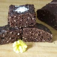 Ciasto czekoladowo-kokosowe bez oleju