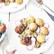 Mielone kotlety z wołowiny z grilla