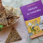 Recenzja ksiązki Bakterie do kwadratu...  oraz przepis na chlebek skandynawski.