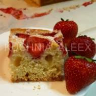 Ciasto jogurtowe z truskawkami wg Aleex (TM5)