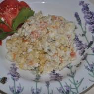 salatka jarzynowa z kasza jaglana