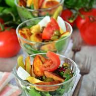 Sałatka z jajkiem, pomidorem, ziemniakami i kaparami + KONKURS