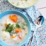 Zupa kalafiorowa z indykiem