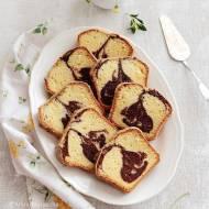 Kawowe ciasto marmurkowe