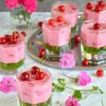 Deser wiśniowo-agrestowy
