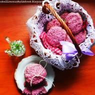 HIT- Różowe miękkie ciastka malinowe