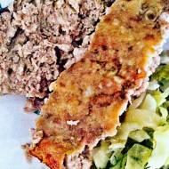 Pieczeń z mielonego mięsa - low carb, LCHF