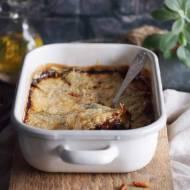 Zapiekanka ziemniaczana z gorgonzolą, szpinakiem i boczkiem / Bacon, spinach and gorgonzola potato gratin