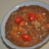 zdrowy ,smaczny gulasz z patatow-batatow,czyli ze slodkich ziemniakow