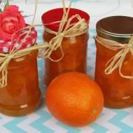 Dżem morelowo- pomarańczowy