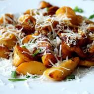 Pieczone młode ziemniaki w ziołach z papryką igołomską.