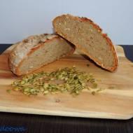 Chleb pszenno - gryczany z pestkami dyni
