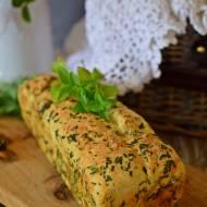 Kulkowy chlebek optymalny z grana padano i ziołami włoskimi