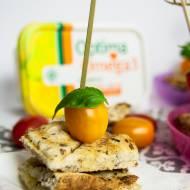 Mini tosty w stylu Caprese