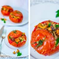 Pomidory z komosą i kurkami (bez glutenu, paleo)