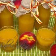 Przepis na sok brzoskwiniowy – pasteryzowany na zimę i nie tylko