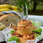 Muffinrollsy o smaku pizzy - optymalny wybór na piknik