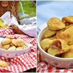 Piknikowe ciasteczka z owocami lata