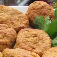 Kotlety ziemniaczano mięsne z piekarnika