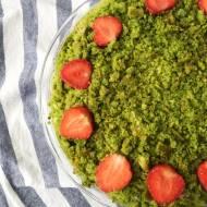 Leśny mech, czyli zielone ciasto szpinakowe