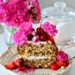 Zdrowe ciasto owsiane z ricottą i owocami dla pięknej i młodej cery. Chodź, nauczę Cię jak słodzić!