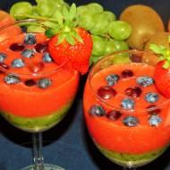 Deser owocowy z nasionami chia