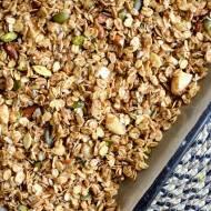Owsiana granola z orzechami i ziarnami - śniadanie idealne :)