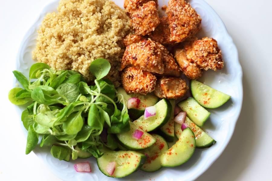 Przepis Na Prosty I Dietetyczny Obiad Kurczak W Sezamie Z Ostrymi