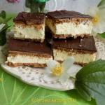 Mleczna kanapka - milky way bez pieczenia