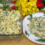 Przepis na sałatkę ziemniaczaną prostą i smaczną
