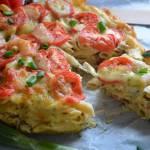 Zapiekanka makaronowa z pomidorami i mozzarellą