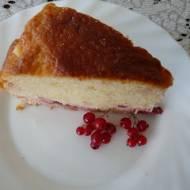 Ciasto z owocami na kefirze
