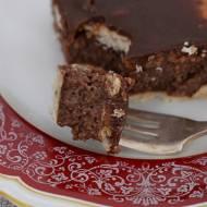 Czekoladowe ciasto na zimno (z budyniem z kaszy manny)