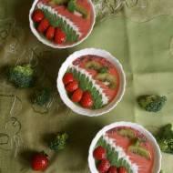 Kolorowe smoothie bowl