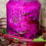 Botwinka z rzodkiewkami kiszona/fermentowana w maślance