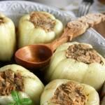 Papryka faszerowana mięsem i makaronem
