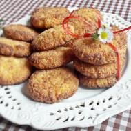 Jaglane ciasteczka z wiórkami kokosowymi